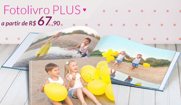 Banner: Fotolivro Plus